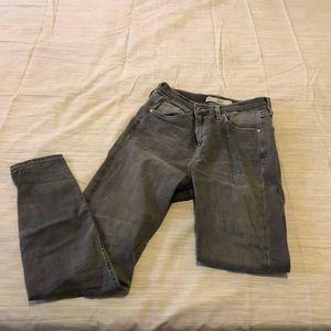 Grey topshop Jamie jeans
